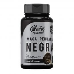 Maca Peruana Negra 60 caps - Unilife Vitamins